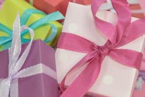 מתנות בגדלים