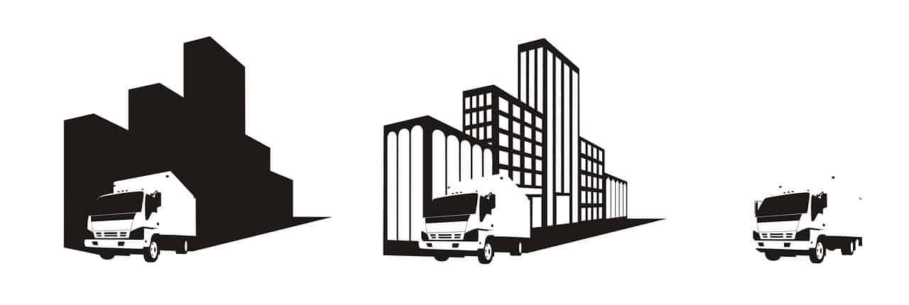 משאית של חברה