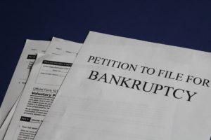 מסמכים השייכים לפשיטת רגל - אילוסטרציה